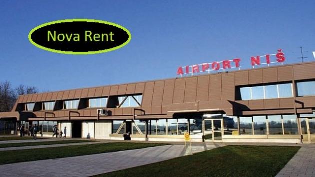 Iznajmite automobil na aerodromu u Nišu! Rent a car Niš